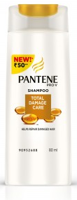 Pantene Pro-v Total Damage Care Shampoo 80 Ml