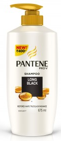 Pantene Pro-v Long Black Shampoo 675 Ml
