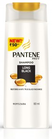 Pantene Pro-v Long Black Shampoo 80 Ml