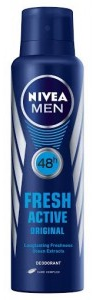 Nivea Fresh Active Original Spray For Men