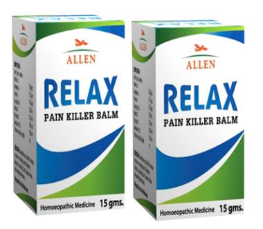 Allen Relax Pain Killer Balm Pack Of 2