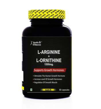 Healthvit Fitness L-arginine With L-ornithine 1500mg Capsule