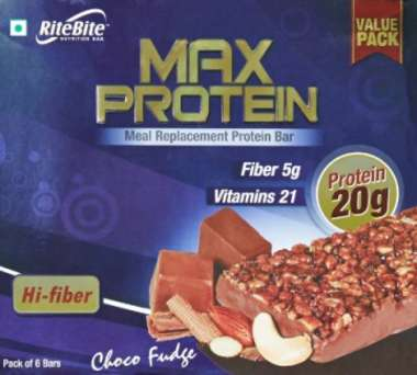 Ritebite Max Protein Bar Choco Fudge