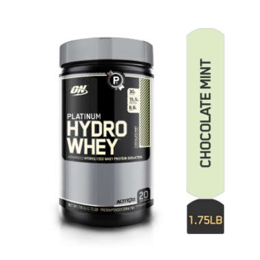Optimum Nutrition (on) Platinum Hydro Whey Chocolate Mint