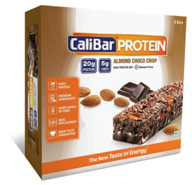 Calibar Protein Bar Almond Choco Crisp