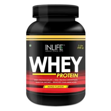 Inlife Whey Protein Powder Mango