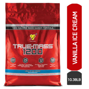 Bsn True-mass 1200 Powder Vanilla Icecream