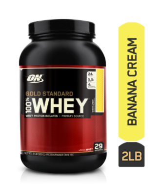Optimum Nutrition (on) Gold Standard 100% Whey Banana Cream