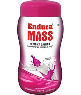 Endura Mass Weight Gainer Strawberry
