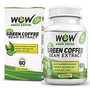 Wow Green Coffee Bean Extract Capsule