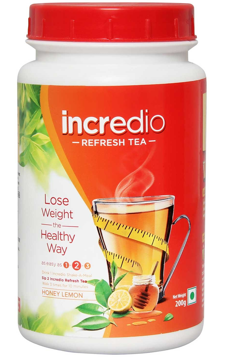 Incredio Refresh Tea Honey Lemon