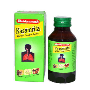 Baidyanath Kasamrit Herbal Syrup