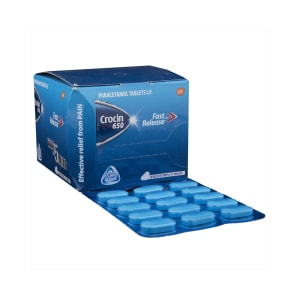 Crocin 650mg Tablet