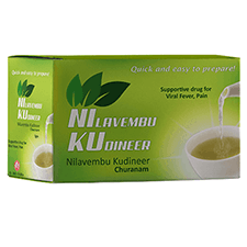 Dr. JRK's Nilavembu Kudineer Churanam (Pack of 10 x 5 gm)