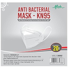 Floh Anti Bacterial Face Mask - K N95 20's
