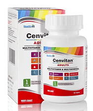 HealthVit Cenvitan Adults (Multivitamin & Multimineral) Tablet 60's