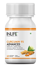 INLIFE Curcumin 95 Advanced 500 mg Vegetarian Capsule 60's