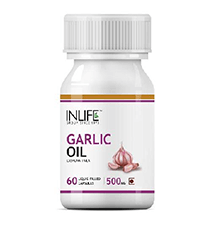 INLIFE Garlic Oil 500 mg Capsules 60's