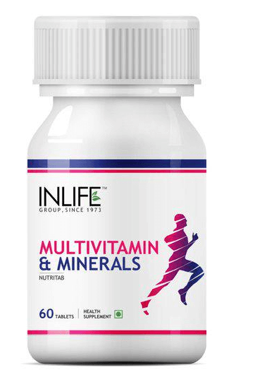 INLIFE Multivitamin and Minerals Supplement Tablets 60's