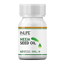 INLIFE Neem Seed Oil Capsules 60's