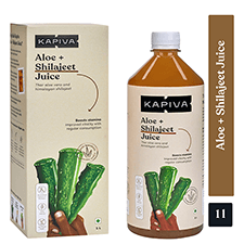 Kapiva Aloe + Shilajeet Juice 1 ltr