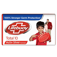 Lifebuoy Total 10 Germ Protection Soap Bar 125 gm