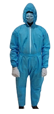 Medical Suit (Coverall Suit+Boot Cover+Mask+Gloves)