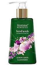 Morpheme Remedies Anti Bacterial Hand Wash - Lemongrass & Lavender 250 ml