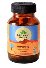 Pack of 4 Organic India Immunity Veg Capsules 60
