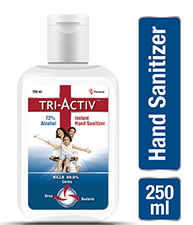 Tri-Activ Instant Hand Sanitizer 250 ml
